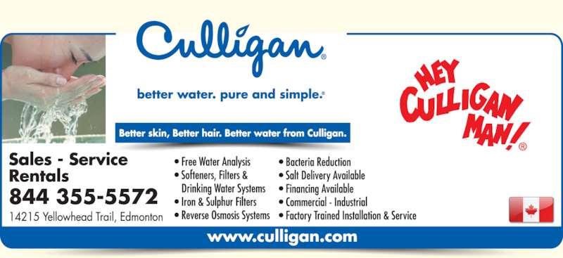 Ads Culligan Water