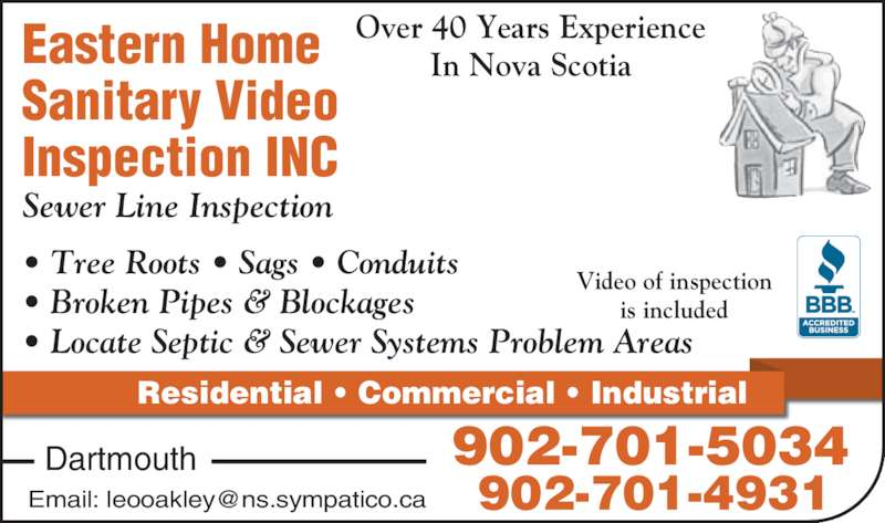 Eastern Home Sanitary Video Inspection Opening Hours