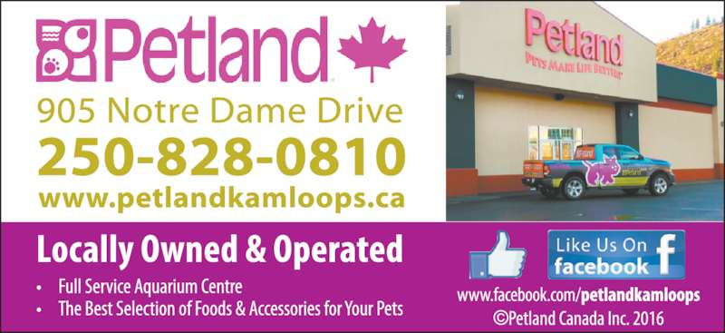 Petland (250-828-0810) - Display Ad -