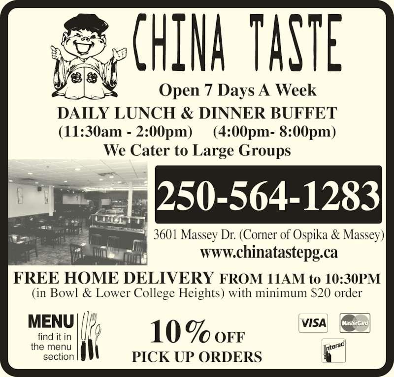 China Taste Restaurant Ltd