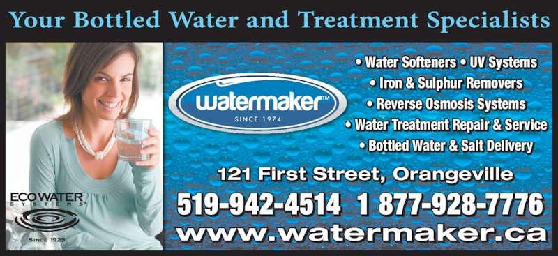 watermaker orangeville opening hours 121 first st orangeville on. Black Bedroom Furniture Sets. Home Design Ideas