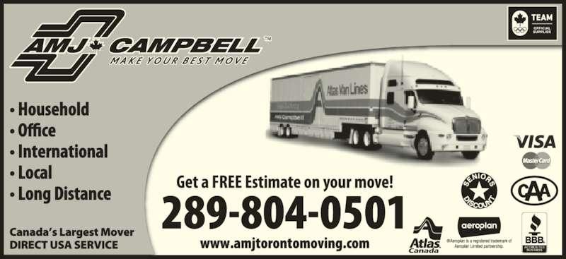 AMJ Campbell (905-670-7111) - Display Ad -