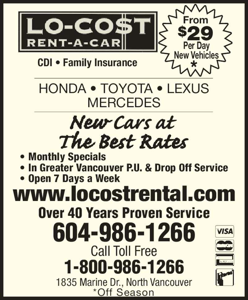 Lo-Cost Rent-A-Car & Truck
