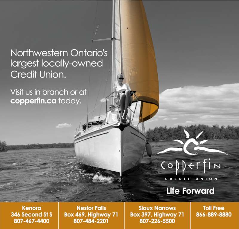 Copperfin Credit Union (807-467-4400) - Display Ad -