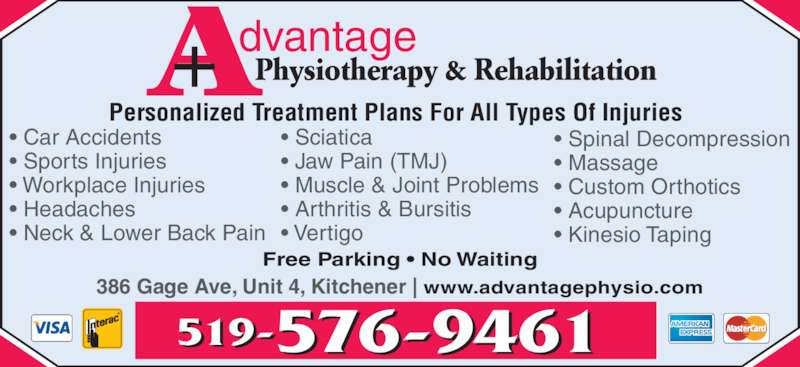 Advantage Physiotherapy Amp Rehabilitation Opening Hours