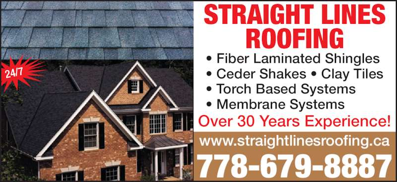 Straight Lines Roofing Opening Hours Merritt Bc