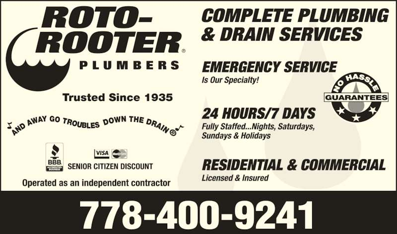 Sep 13,  · Roto-Rooter's Kelseyville plumbers offer residential and commercial plumbing services that customers depend on for all of their local plumbing needs. Trusted and recommended since , Roto-Rooter is the premier provider of plumbing and drain cleaning services 4/ Yelp reviews.