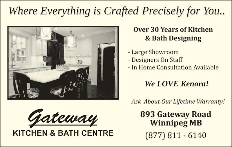 Gateway Kitchen And Bath Winnipeg Reviews