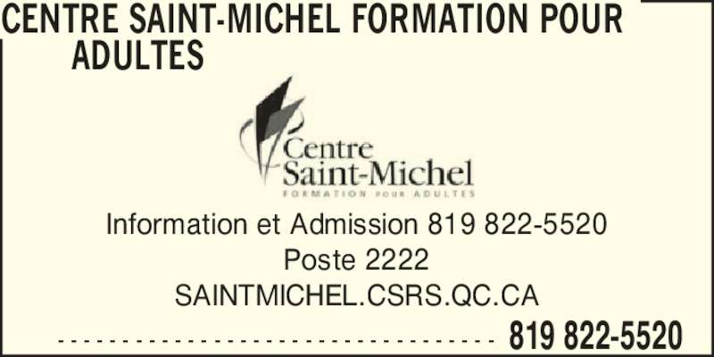 Ads Centre Saint-Michel Formation pour Adultes