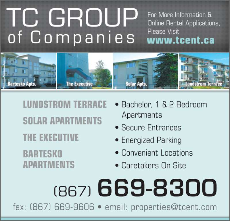 Apartment Leasing Companies: 5013 48 St, Yellowknife, NT