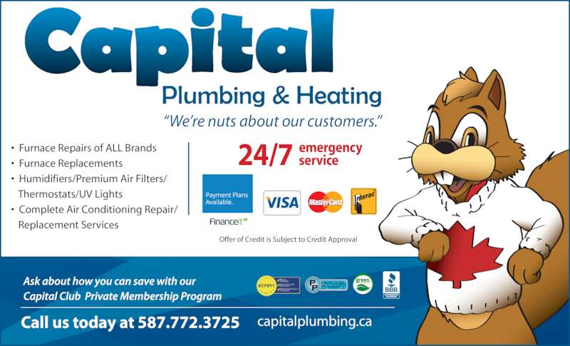 Capital Plumbing Amp Heating Opening Hours 14843 118 Ave