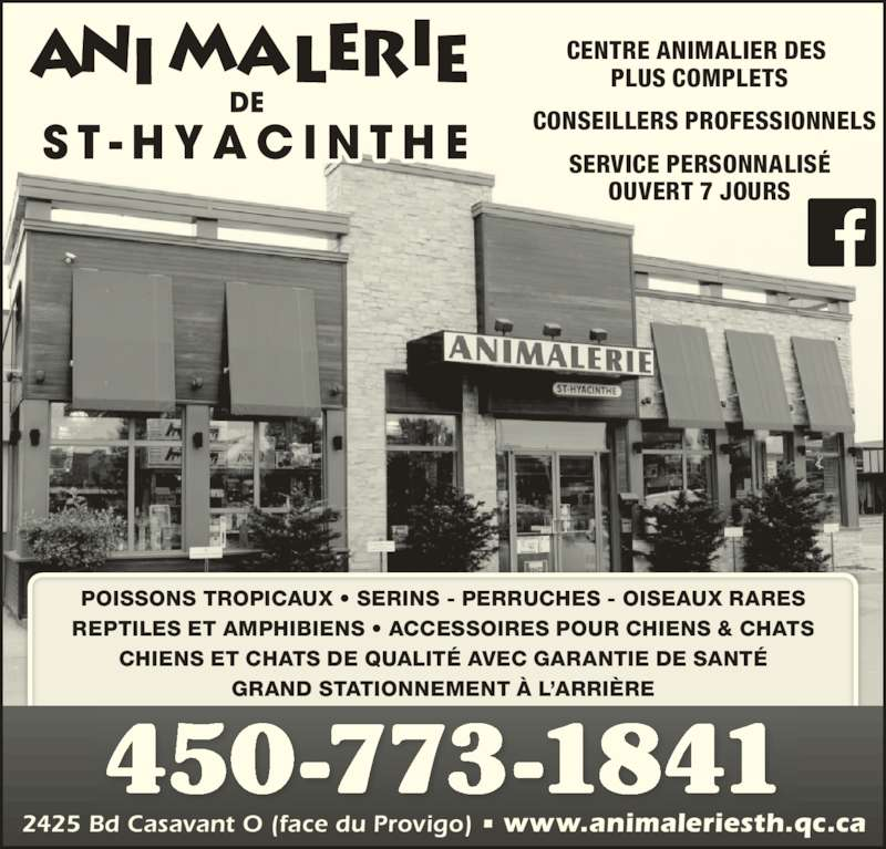 Animalerie St-Hyacinthe