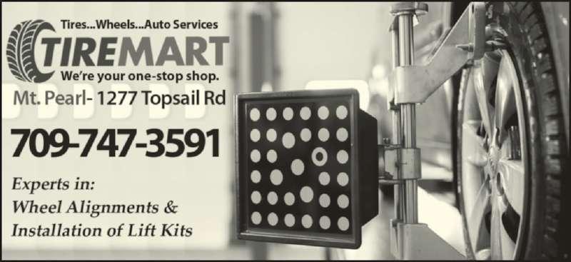 Tire Mart (709-747-3591) - Display Ad -