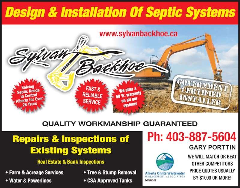 Sylvan backhoe inc opening hours