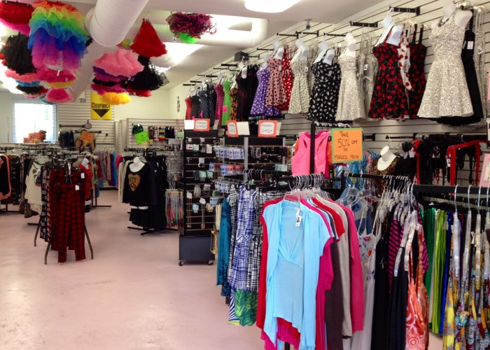 The limited clothing store locations. Cheap online clothing stores