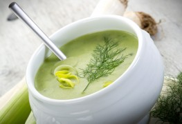 A tasty veggie soup to welcome spring