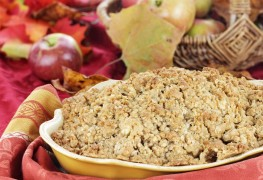 2 delicious crumbles: A healthier dessert option