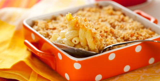 Easy-to-love mac 'n' cheese with veggies