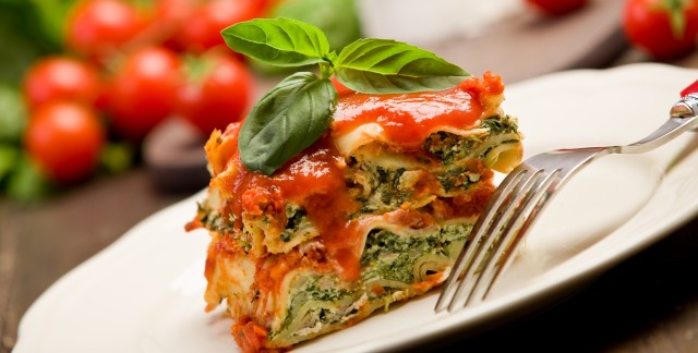 The easy way to cook a sausage and spinach lasagna