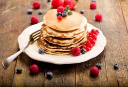 Breakfast perfection: Buttermilk whole-grain pancakes