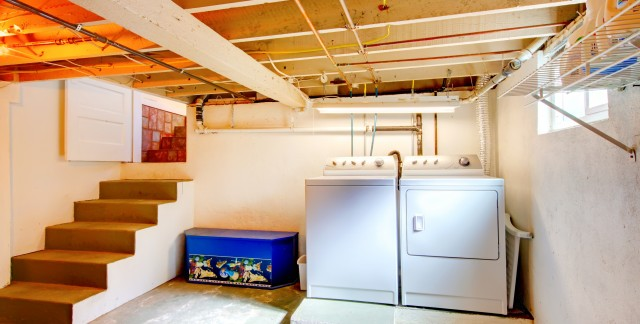 3 ways to clear out and organize your basement