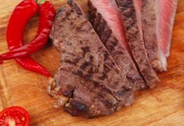 Feast on strip steaks with smoky spice rub