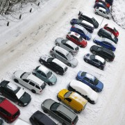 Are there corporate responsibilities for snowy parking lots?