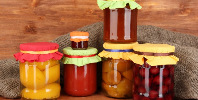 Simple methods for canning your produce