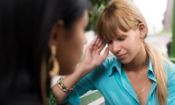 teen blurred vision headache