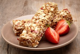 Recipe to beat high blood pressure: chewy granola bars