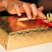 Engaging the senses - the art of gift-wrapping