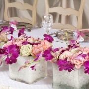 Setting an artful table