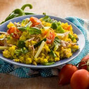 Healthy living key: whole-grain dinner dishes