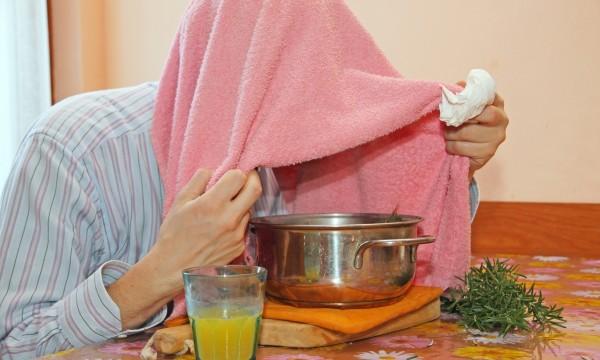 Ингаляция при кашле в домашних условиях над картошкой при