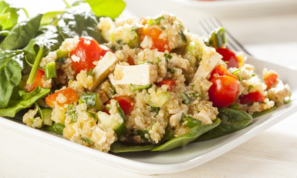 Superfoods recipe: quinoa with summer vegetables