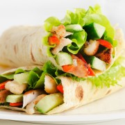 Super foods recipe: Tex-Mex chicken wraps