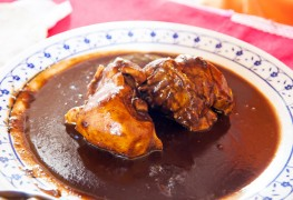 Put a spin on chocolate with this tasty mole sauce