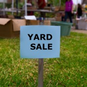 Tricks for finding the best bargains at yard sales