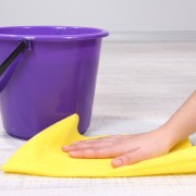 The easy way to clean no-wax vinyl floors