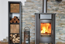 How to operate a wood burning stove