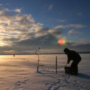 2 reasons to try ice fishing the winter