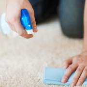 Green cleaning advice for carpets
