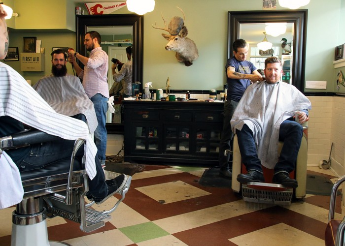 the belmont barbershop vancouver business story. Black Bedroom Furniture Sets. Home Design Ideas