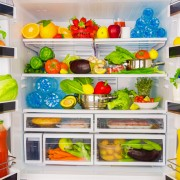 Healthy and convenient refrigerator makeover