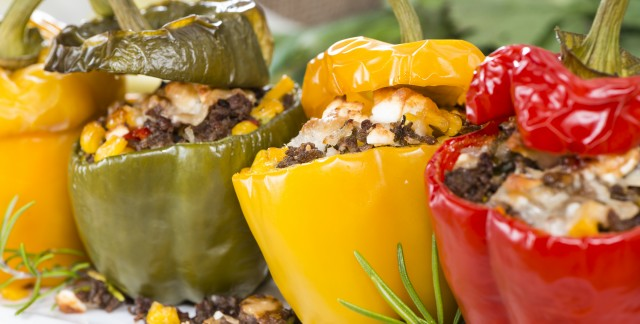Vegetables for vitality:  bell peppers
