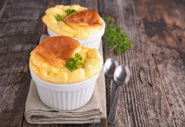 Try this omega 3 packed dish: Smoked salmon soufflé