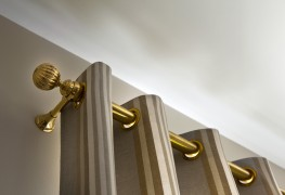 A helpful guide to hanging curtain rods or tracks