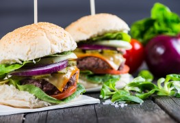 Skip the fast food: healthy, flavour-packed burgers at home