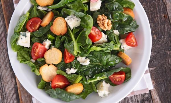 2 salads with fresh summery vinaigrettes