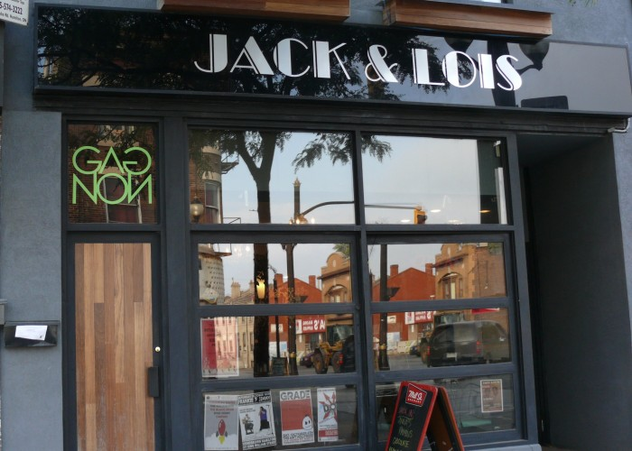 Jack & Lois, Dine-In, Take-Out, Catering, Delivery, Creative Gourmet Diner Food, Patio, Drinks, Daily Features Posted on Facebook
